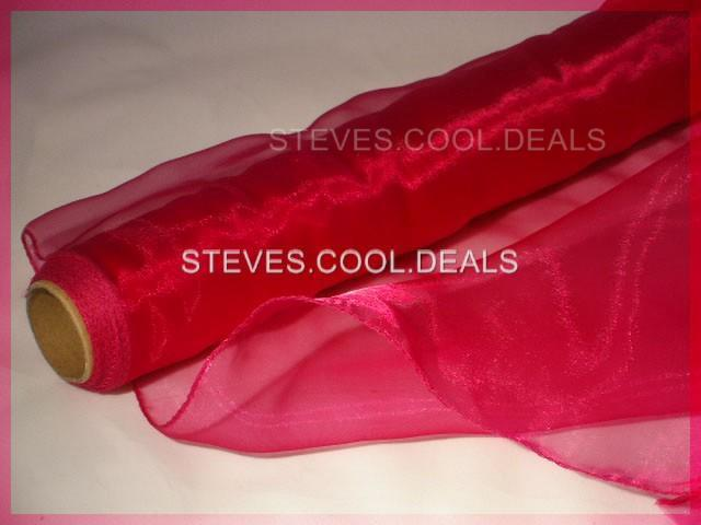ORGANZA-FABRIC-SWAGS-CHAIR-BOWS-WEDDING-TABLE-RUNNER-DRAPING-MATERIAL-GIFT-WRAP