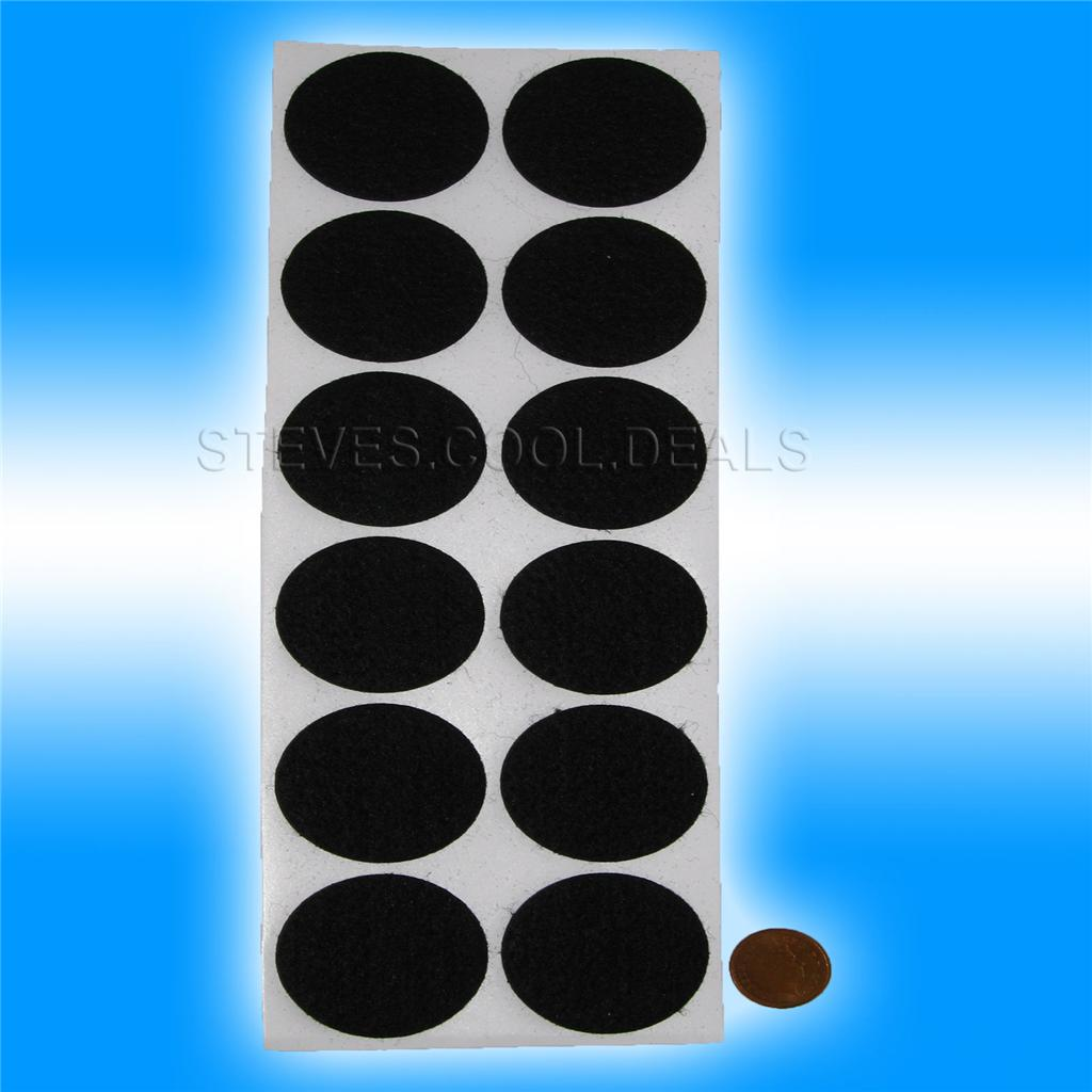 Felt Self Adhesive Sticky Pads Dots Squares Protects