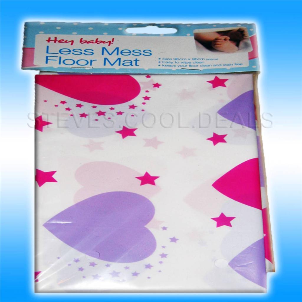 baby feeding no splash floor sheet mat less mess craft