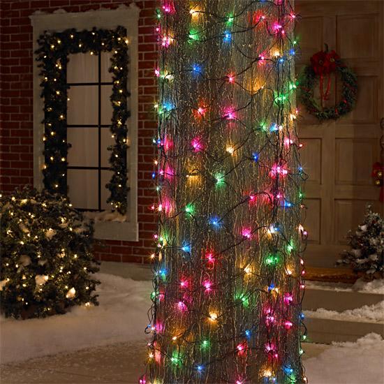 6 X 4 Tree Trunk Wrap Net Christmas 150 Multi Lights Ebay