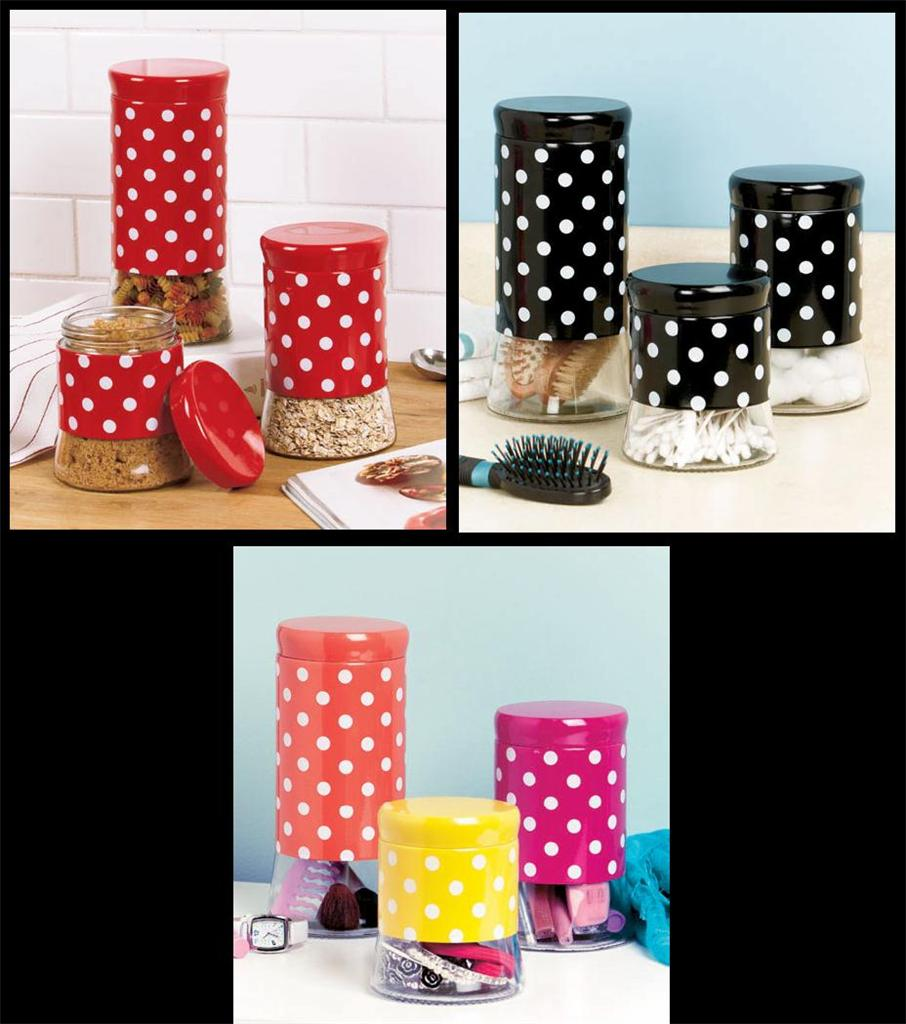 Multicolored : canisters canister sets : Target