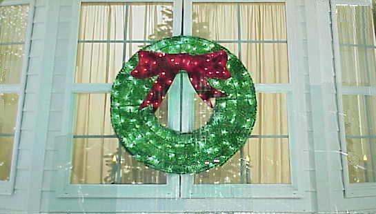 Lighted Christmas Bow