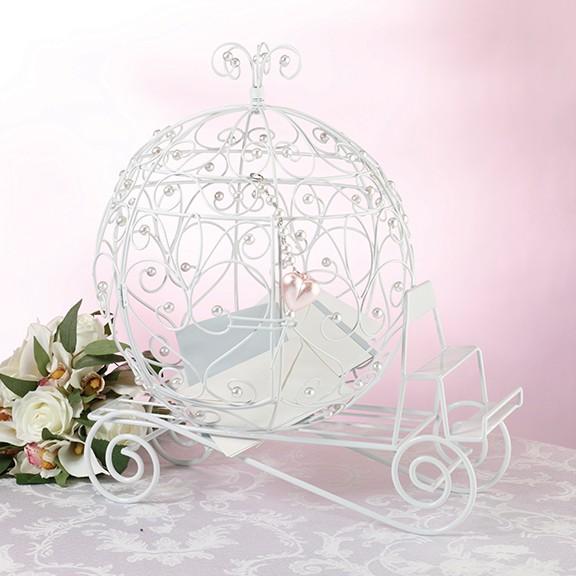 Wedding Gift Card Holder With Lock : ... White Beaded Wedding Coach Card Box Reception Gift Card Holder -LOCKS