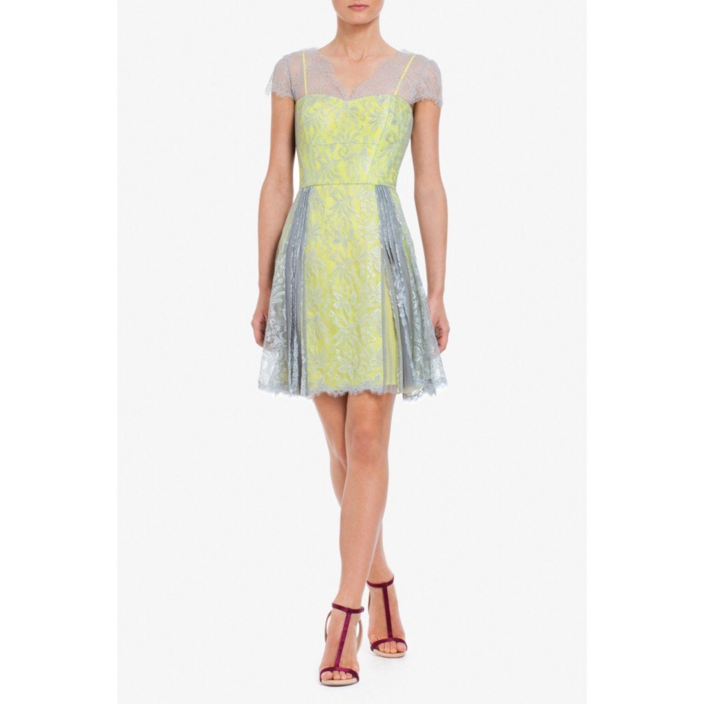 2012new-BCBG-Max-Azria-Metallic-Floral-Lace-LOV-CAP-SLEEVE-LACE-COCKTAIL-DRESS
