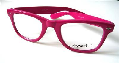NEW Wayfarer Retro Colorize style PINK Eyeglasses Cool  eBay item