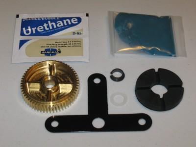 2000l 2004 corvette brass bronze headlight motor repair for Corvette headlight motor rebuild