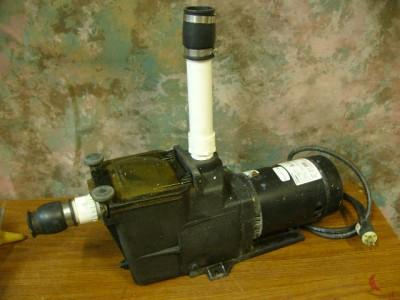 HAYWARD 1 HP SUPER PUMP SWIMMING POOL SPA TRASH PUMP MODEL SP2607X10