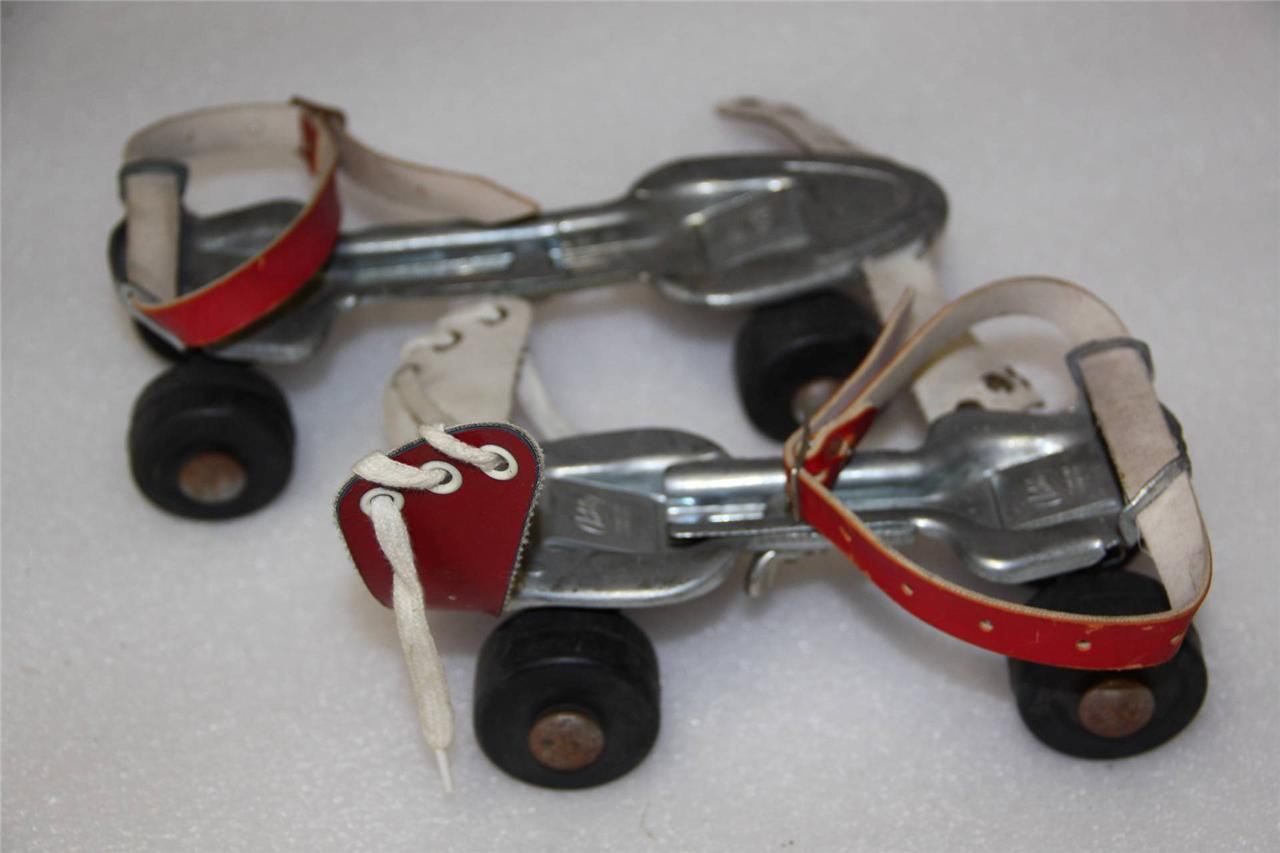 Old Fashioned Roller Skates With Key