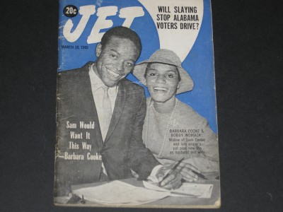 Jet magazine 1965 sam cooke barbara cooke plans to marry bobby womack