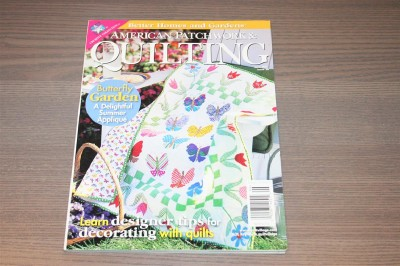 Better Homes And Gardens Quilting Magazine June 2001 Quilt