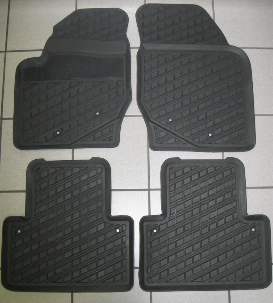 new volvo xc90 s80 xc70 s60 rubber floor mats trays ebay. Black Bedroom Furniture Sets. Home Design Ideas