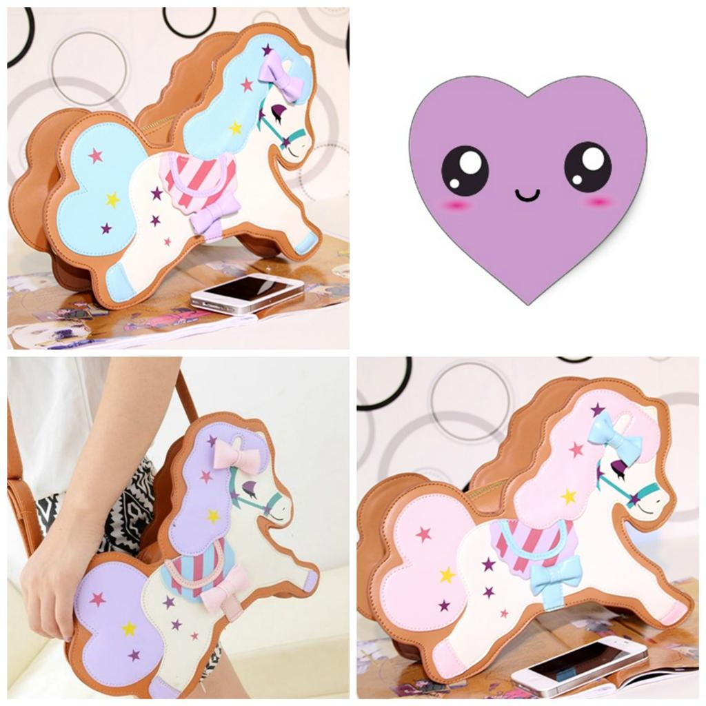 UBER CUTE HARAJUKU KAWAII PASTEL PONY HORSE BAG | eBay: www.ebay.co.uk/itm/UBER-CUTE-HARAJUKU-KAWAII-PASTEL-PONY-HORSE-BAG...