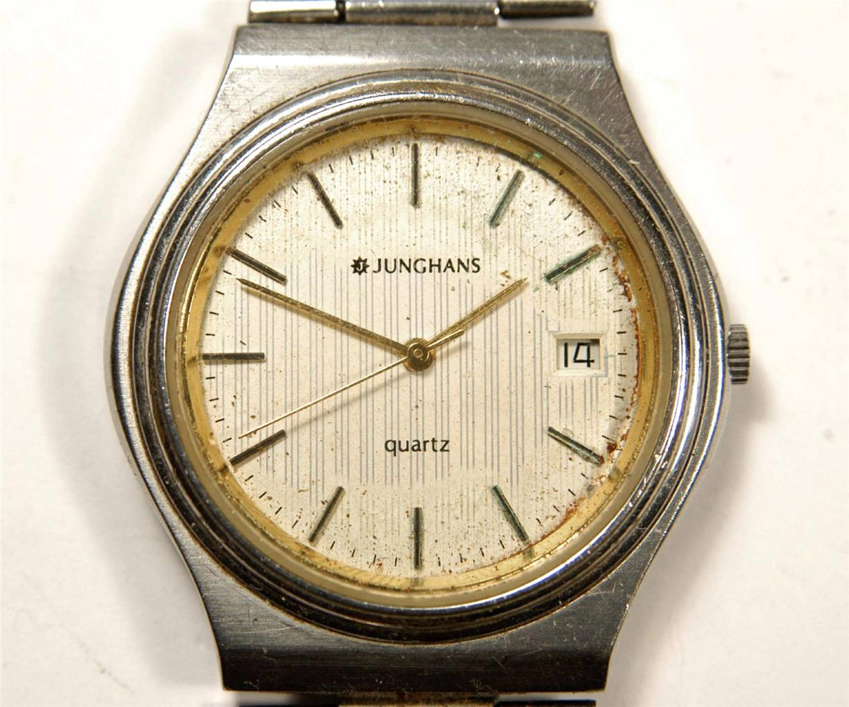 how to clean old quartz watches