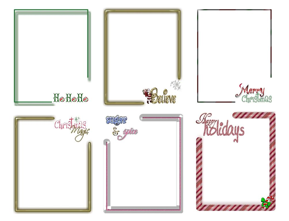 Digital christmas card templates photoshop backgrounds ebay for Digital christmas cards templates