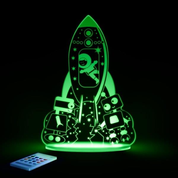 New aloka sleepylights colour changing remote control led kids night light - Remote control night light ...