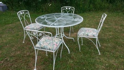 antique wrought iron patio furniture ebay 2015 home