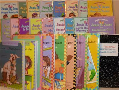 Big Lot of 27 Junie B. Jones Paperback/PB 1-27 - All Good Cond