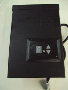 portfolio 200 watt magnetic power pack with digital timer low voltage. Black Bedroom Furniture Sets. Home Design Ideas