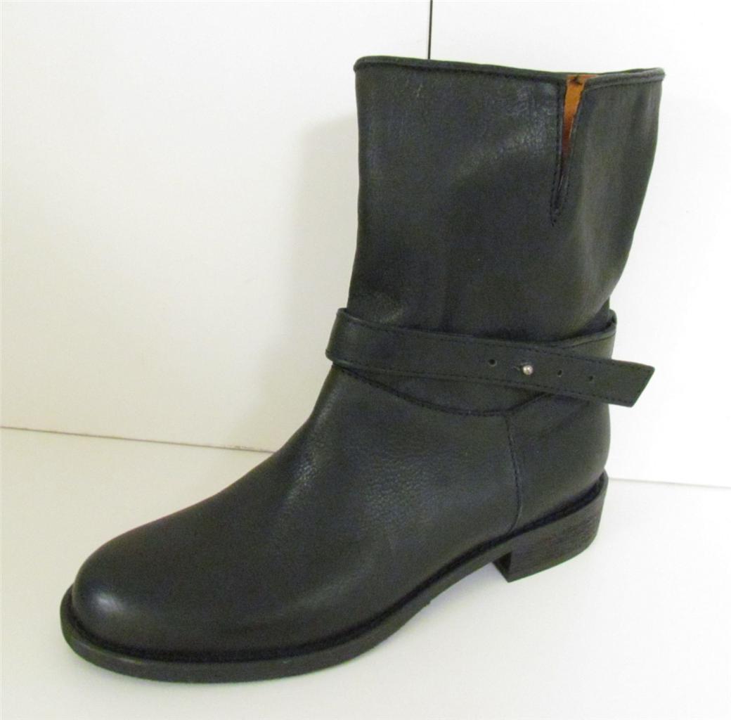 madewell biker boots size 6 j crew black ebay