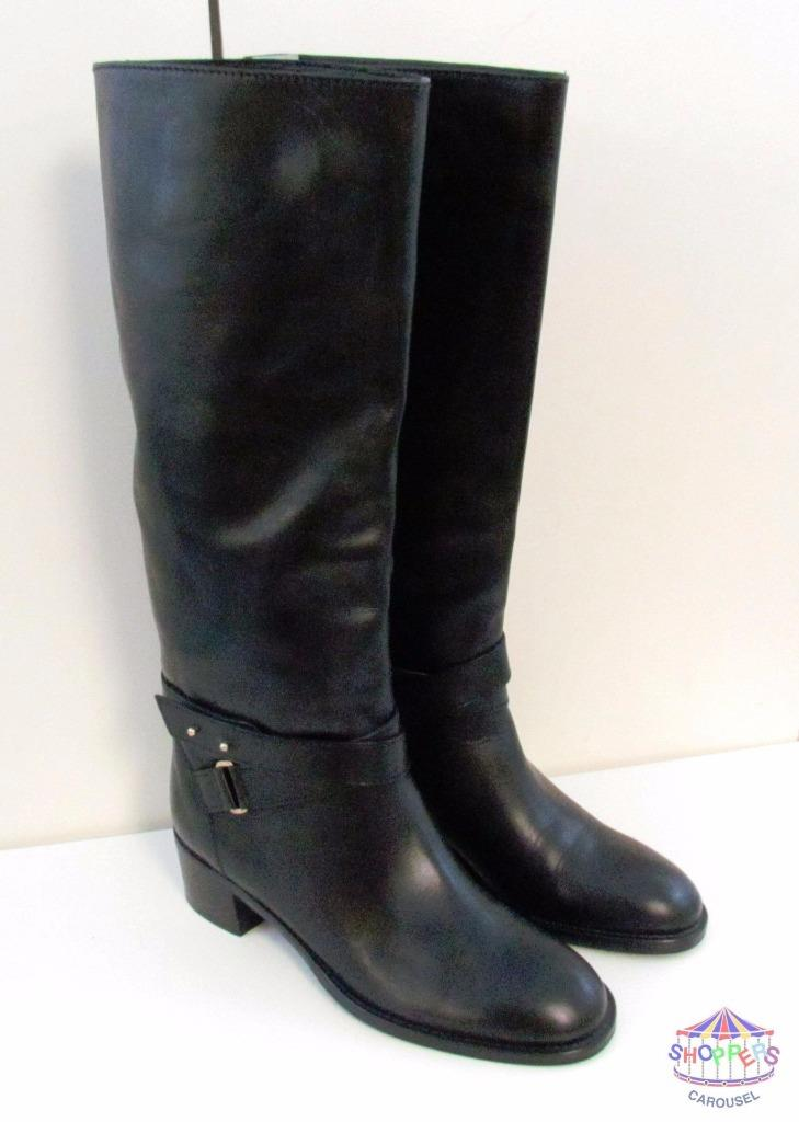 J Crew Parker Vachetta Leather Knee High Boots style 03010 NEW 358