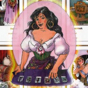 METAPHYSICAL-Gypsy-Tarot-telling-card-deck-B-N