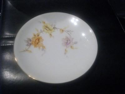 5-VINTAGE-ENTREE-PLATES-MADE-IN-BAVARIA-GERMANY-BY-H-CO