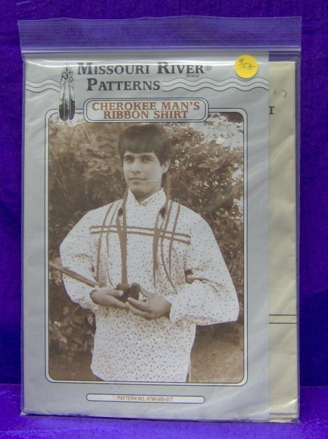 Indian-Native-American-Cherokee-Ribbon-Shirt-Pattern