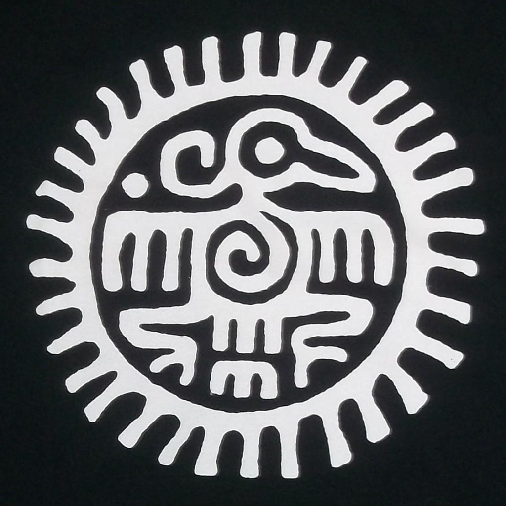 Ancient-Thunderbird-Mayan-Aztec-Black-Crew-T-Shirt