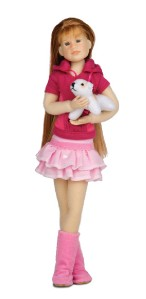 NEW-Only-Hearts-Club-Doll-Lily-Rose-in-Outfit-with-Dog