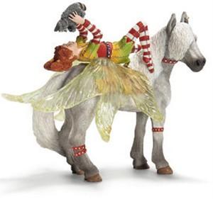NEW-Schleich-70427-Bayala-Marween-Racoon-Piuh-Horse