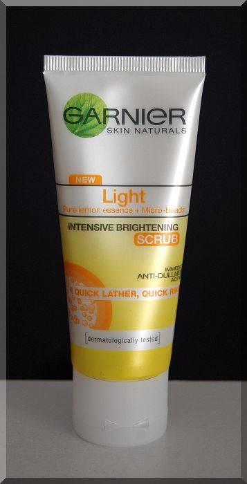 Garnier skin naturals facial foams and scrubs 50ml