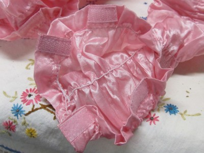 pink fabric decorative cord cover shabby cottage chic ebay. Black Bedroom Furniture Sets. Home Design Ideas