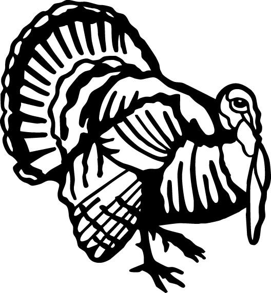 Turkey hunting logos - photo#12