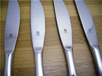 wmf cromargan 18 10 korea action set of 4 dinner knives stainless flatware ebay. Black Bedroom Furniture Sets. Home Design Ideas