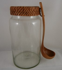 pottery barn agua fresca jug with ladle brand new ebay. Black Bedroom Furniture Sets. Home Design Ideas