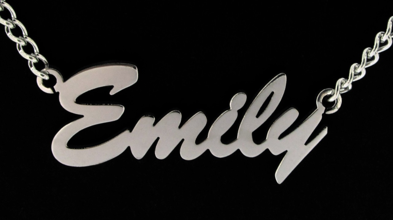 NEW-LARGE-PERSONALISED-ANY-NAME-PLATE-NECKLACE-CHAIN-UK
