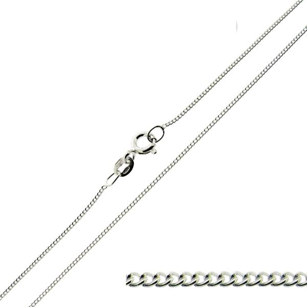 """375 SOLID 9CT YELLOW / WHITE GOLD 14 16 18 20 22 24 26"""" CURB CHAIN LINK NECKLACE"""