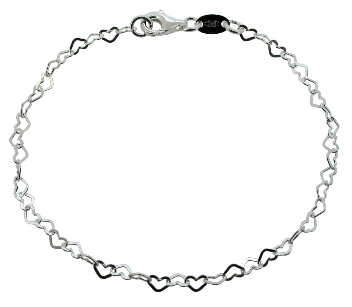 Displaying 19u0026gt; Images For - Silver Charm Bracelet Chain...