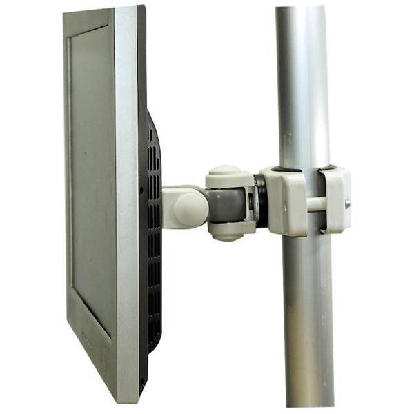 tilt rotate pole mounting bracket for tv hdtv lcd led. Black Bedroom Furniture Sets. Home Design Ideas