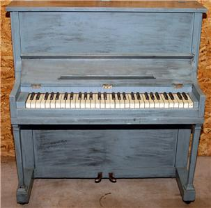 Early 1900 39 s kroeger small size 40 spinet console upright for Small upright piano dimensions