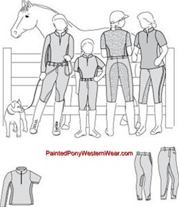 Amazon.com: Misses' English Riding Pants Pattern - Sizes 6