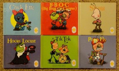 Bugg - Topsy-Turvy - Stephen Cosgrove - 25 Book Lot - 1988