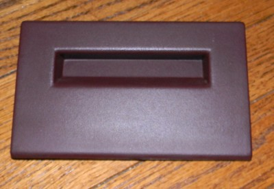 chevy k1500 truck dash fuse panel cover red 88 94 blazer