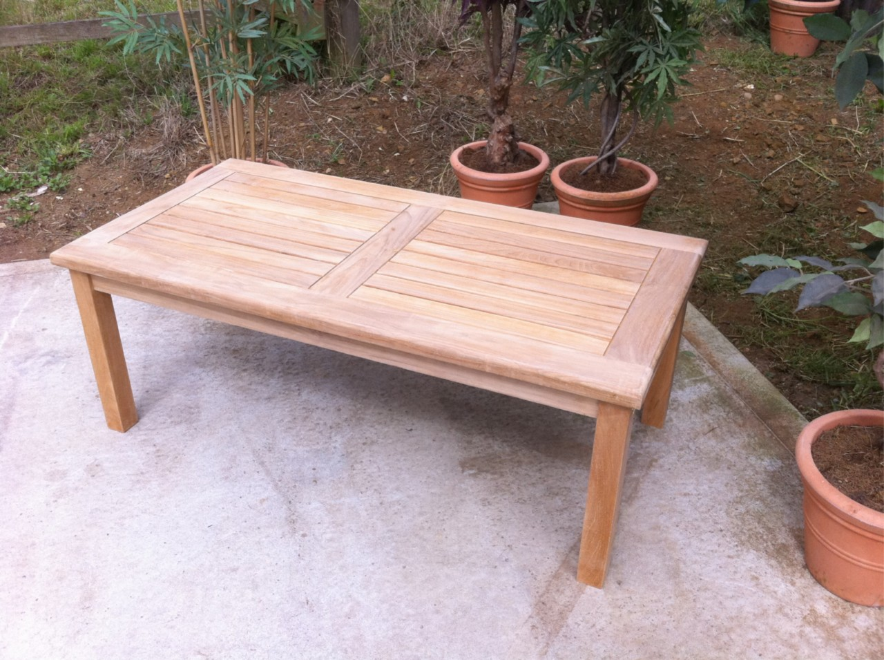 Grade A Teak Side Coffee Table Garden Furniture Indoor Ebay