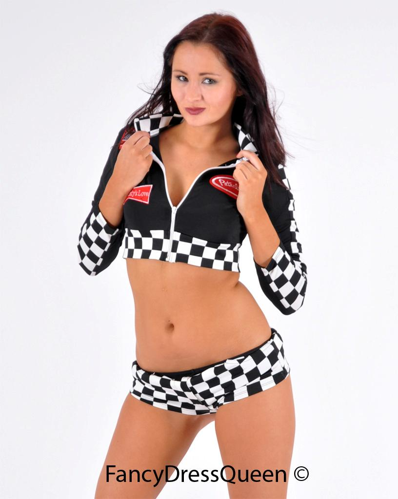 Pics photos home racer girl costume 1 piece