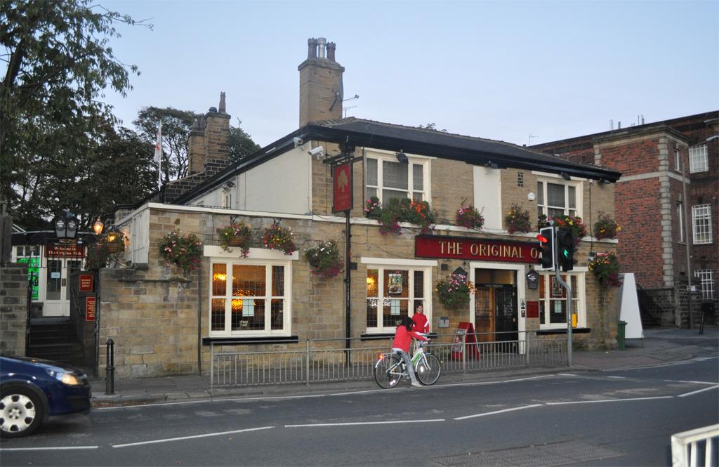 The Original Oak pub in central Headingley