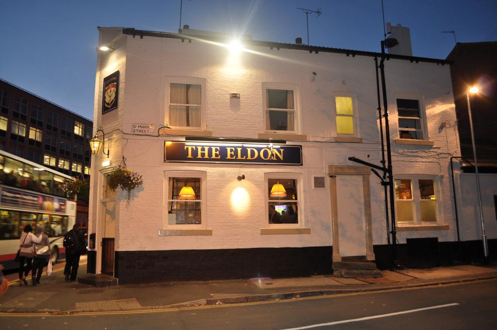 The Eldon Pub on woodhouse lane