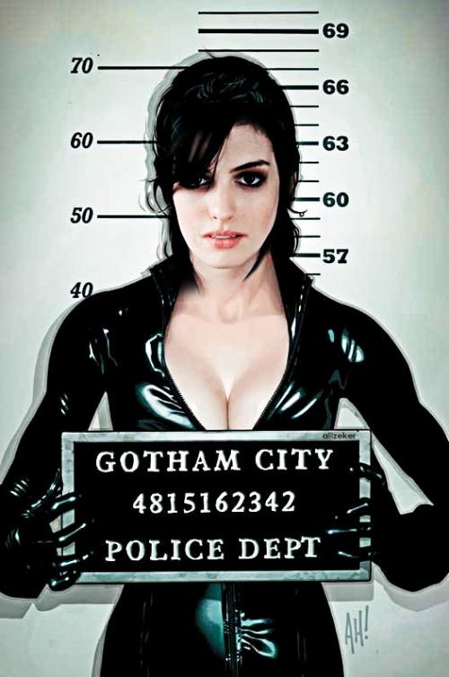 Fake Anne Hathaway Catwoman Costume Picture 2