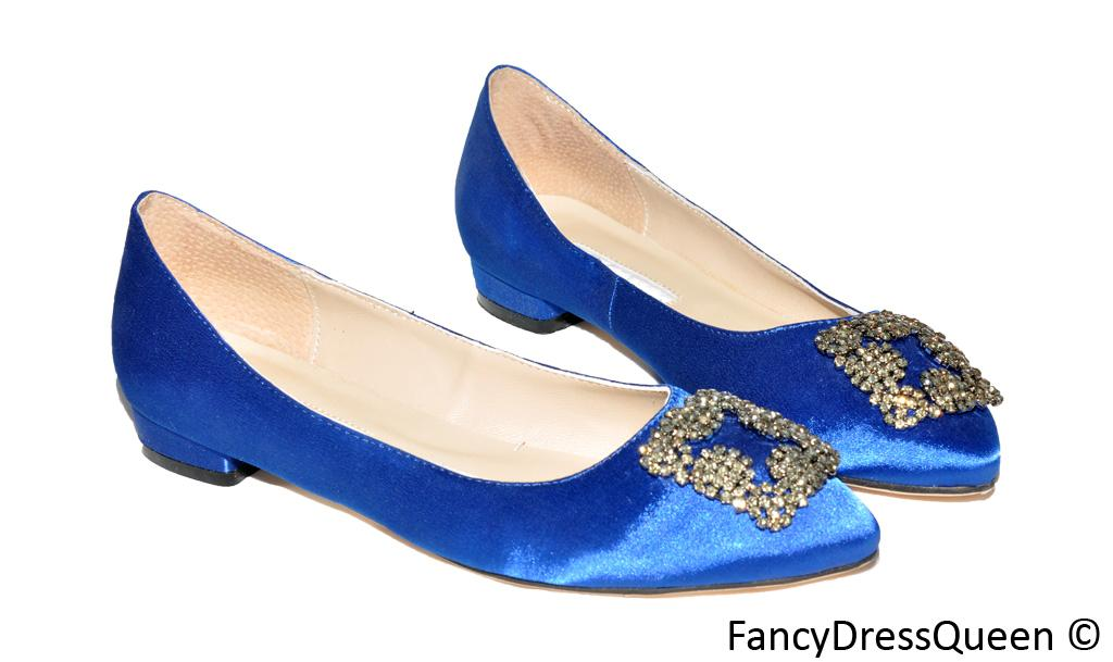 something blue flats sex and the city pumps wedding shoes