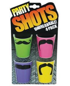 red wayfarer glasses  shotglasses